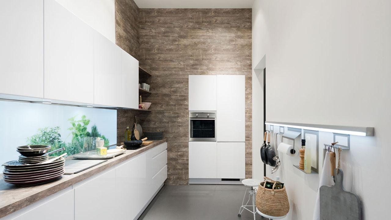 Einbauküche für ein apartment