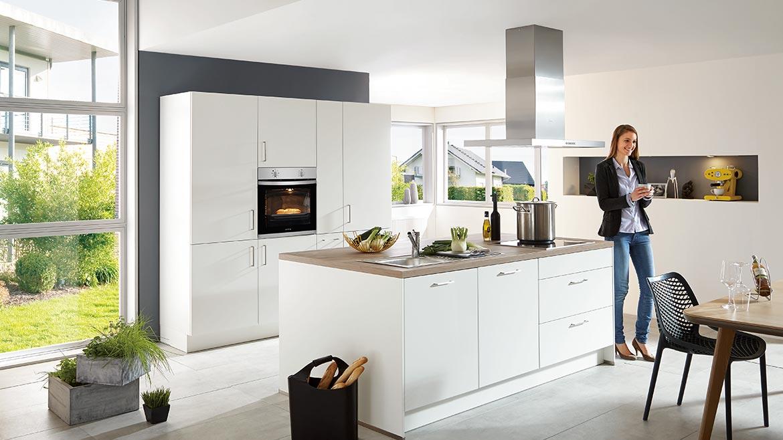 Nobilia Einbauküchen in der Küchenwelt von Pfiff Möbel
