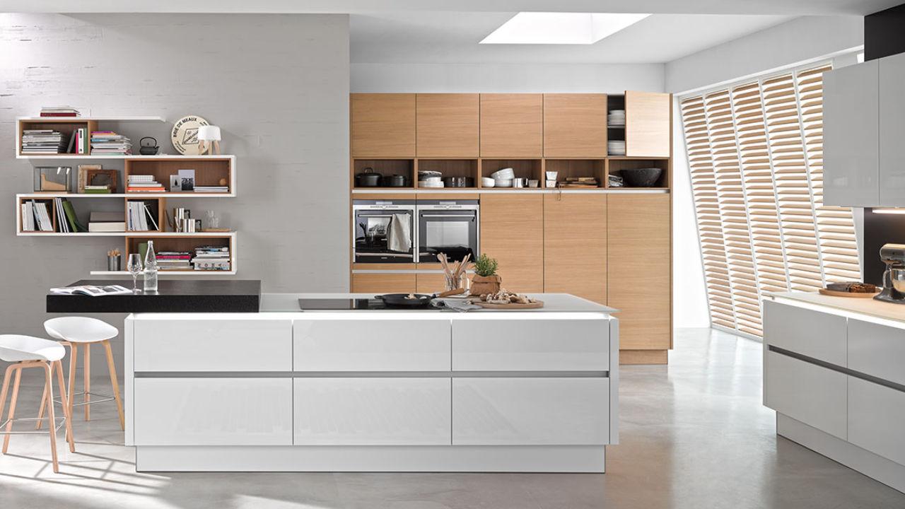 Einbauküche für ein penthouse