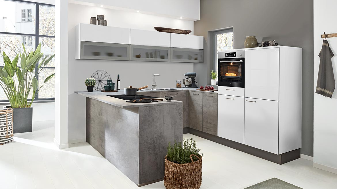 Interliving 3006 Beton Arcticweiss